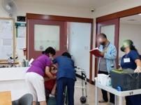 어르신 코로나19 2차 백신 접종